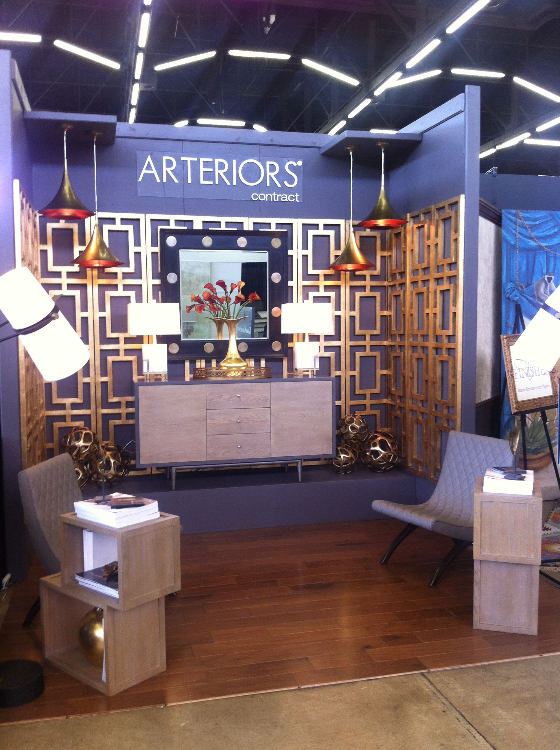 The Arteriors Contract Booth In Dallas Market Hall #572 For Metrocon 2012.  Many Thanks To Leeu0027s Team, Dillon And Katherine For The Design And  Execution!