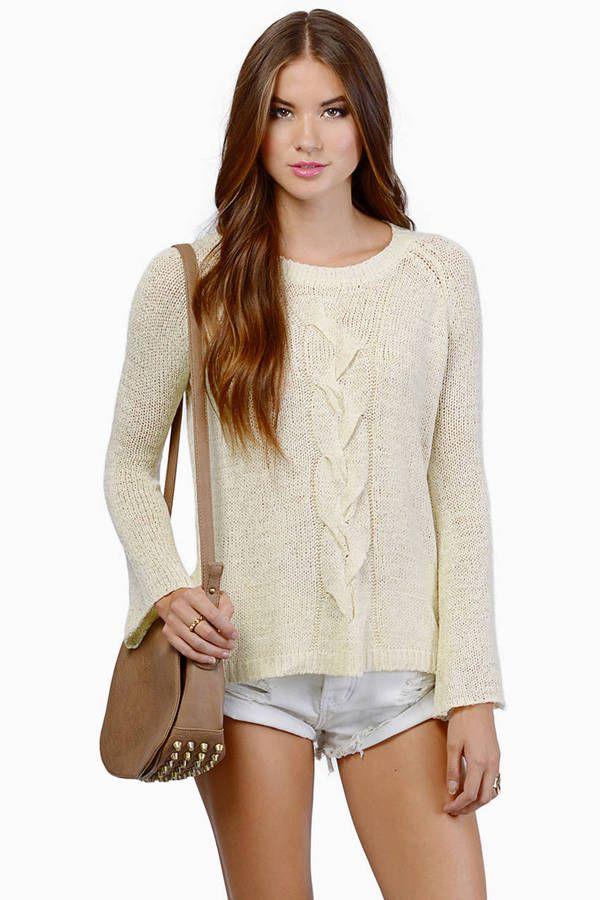My Flare Lady Sweater at Tobi.com #shoptobi