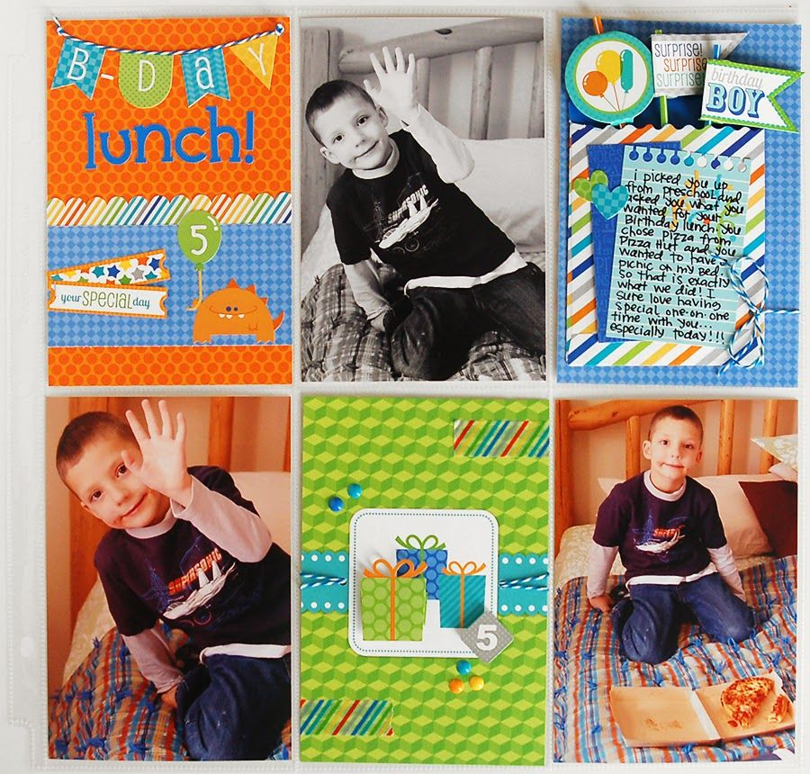 Hip Hip Hooray: Simply Put Project Life-type Scrapbooking with Doodlebug by Wendy Sue Anderson