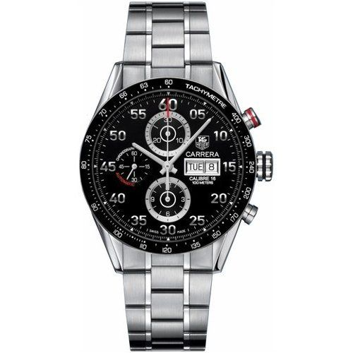 TAG Heuer Men's CV2A10.BA0796 Carrera Automatic Chronograph Watch for only $3,265.09 You save: $1,334.91 (29%)