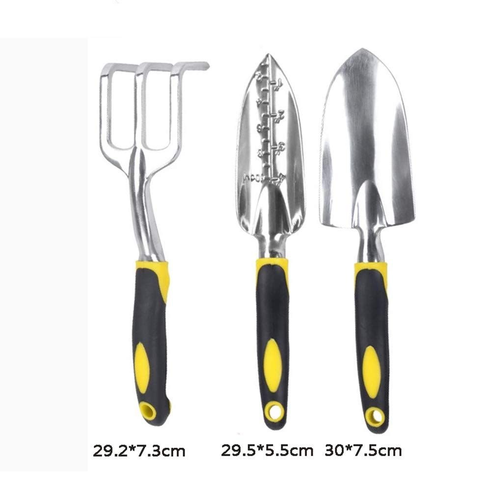 Tools Garden Tools 1 Pc High Quality Portable Digging Tool Mini Two Head Hoe For Home Garden Transplanting Non-slip Tool Two Head Hoe