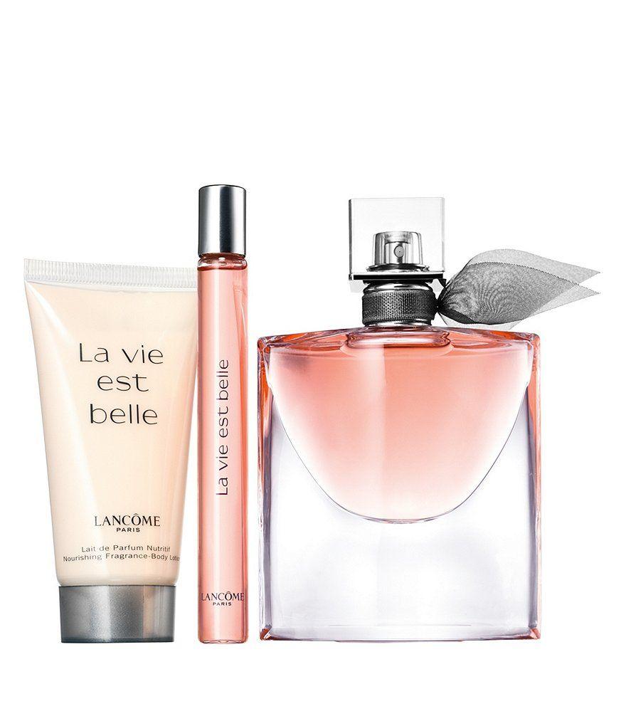 Lancome La Vie Est Belle Passions Set La Vie Est Belle Lancome Fragrance Travel Size Perfume