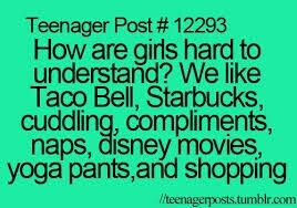 Lol so true exsept no taco bell