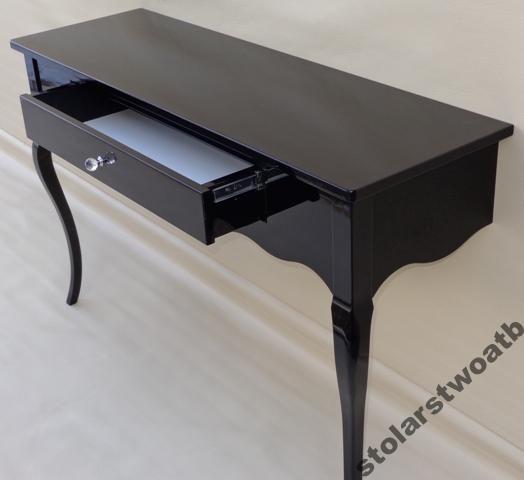 Konsola Toaletka Z Duza Szuflada W Polysku 3102362877 Oficjalne Archiwum Allegro Home Decor Office Desk Home