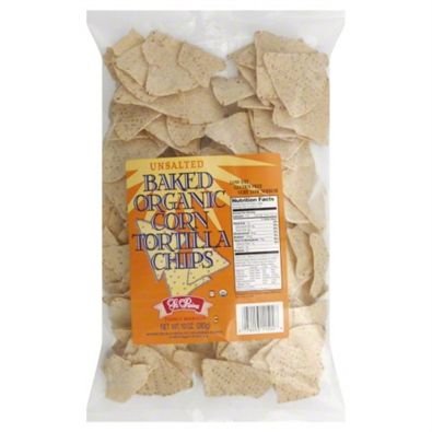 """La Reina"" La Reina Baked White Corn Tortilla Chips Unsalted, 10 oz., 12 Pack at Hy-VeeDirect.com"