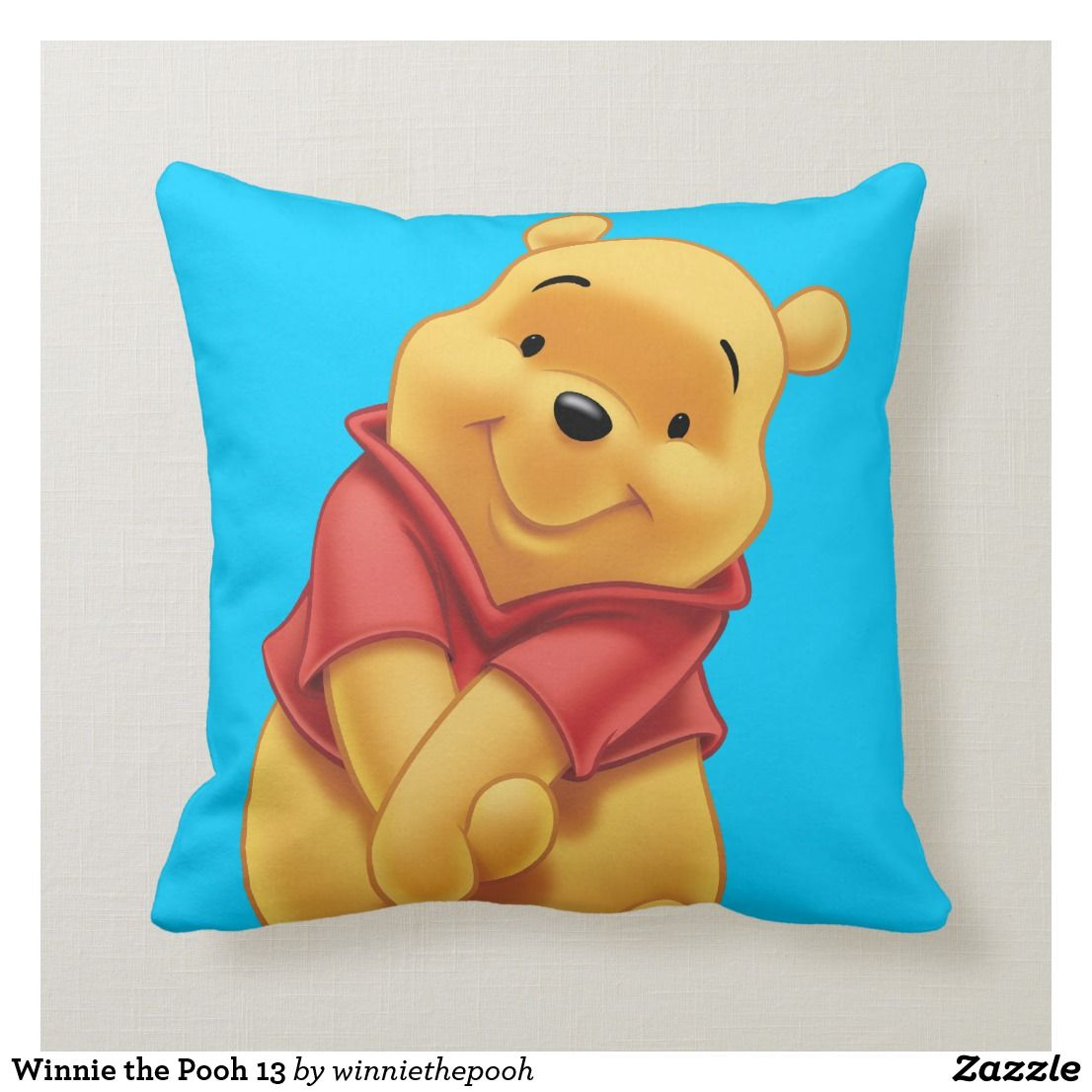 8b1a0636d17f Winnie the Pooh 13 Throw Pillow. Perfect gifts for the favorite silly bear  fan. Everybody s lovable Disney Winnie the Pooh merchandise are available  online.