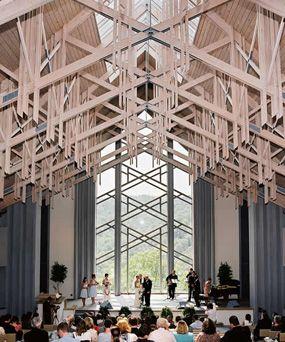 Thorncrown Chapel In Eureka Spring Ar