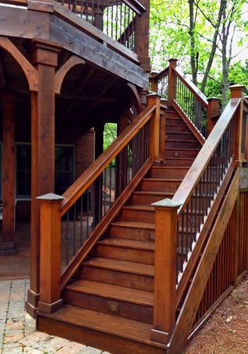 Best Flawless Painting Llc Deck Stairs Deckmaintenance 640 x 480