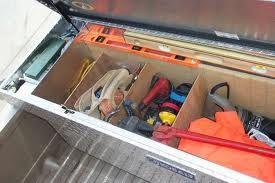 Truck Toolbox Dividers Truck Tool Box Work Truck Truck Toolbox Organization