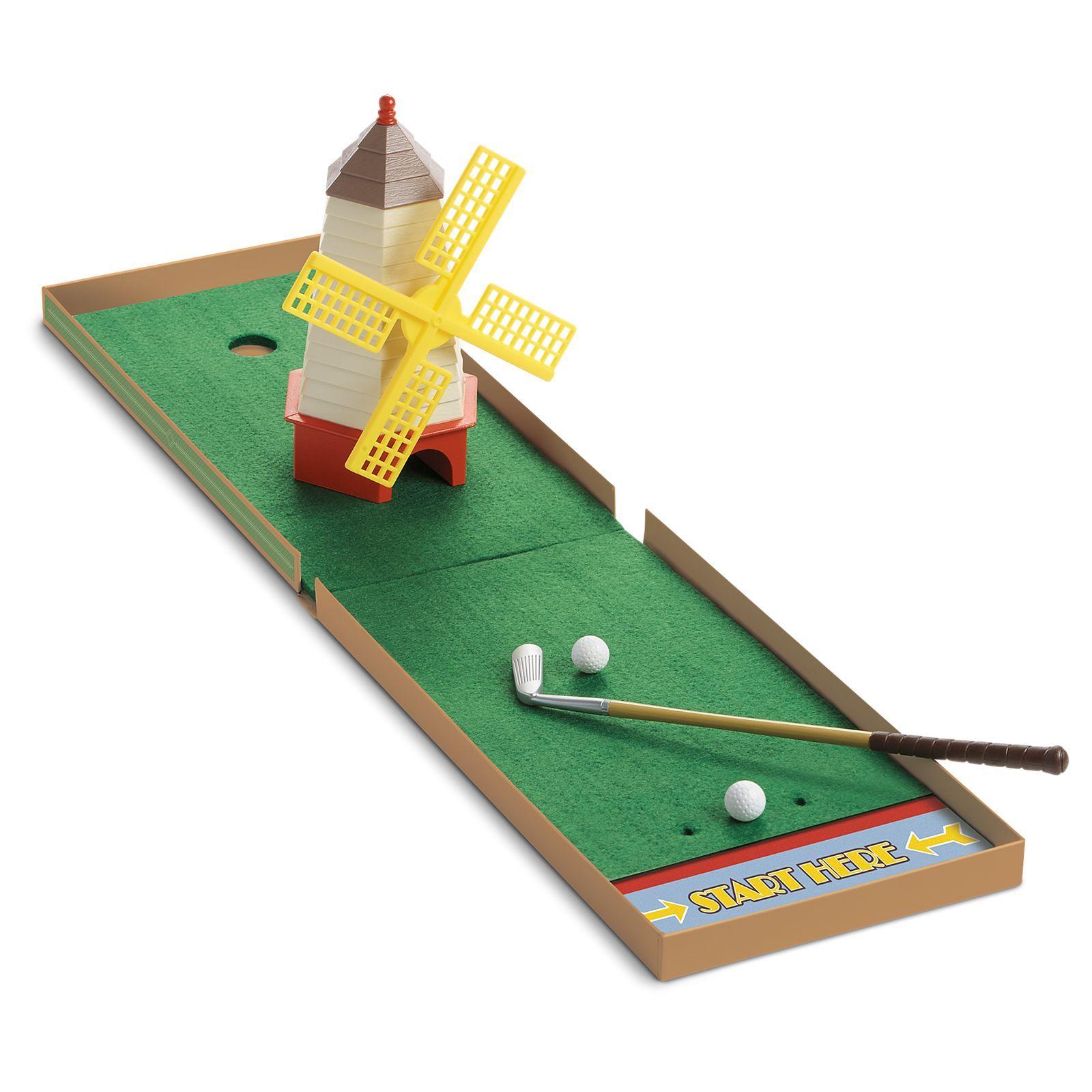 Kit S Mini Golf Set Beforever American Girl Golf Set Mini Golf Mini Golf Set