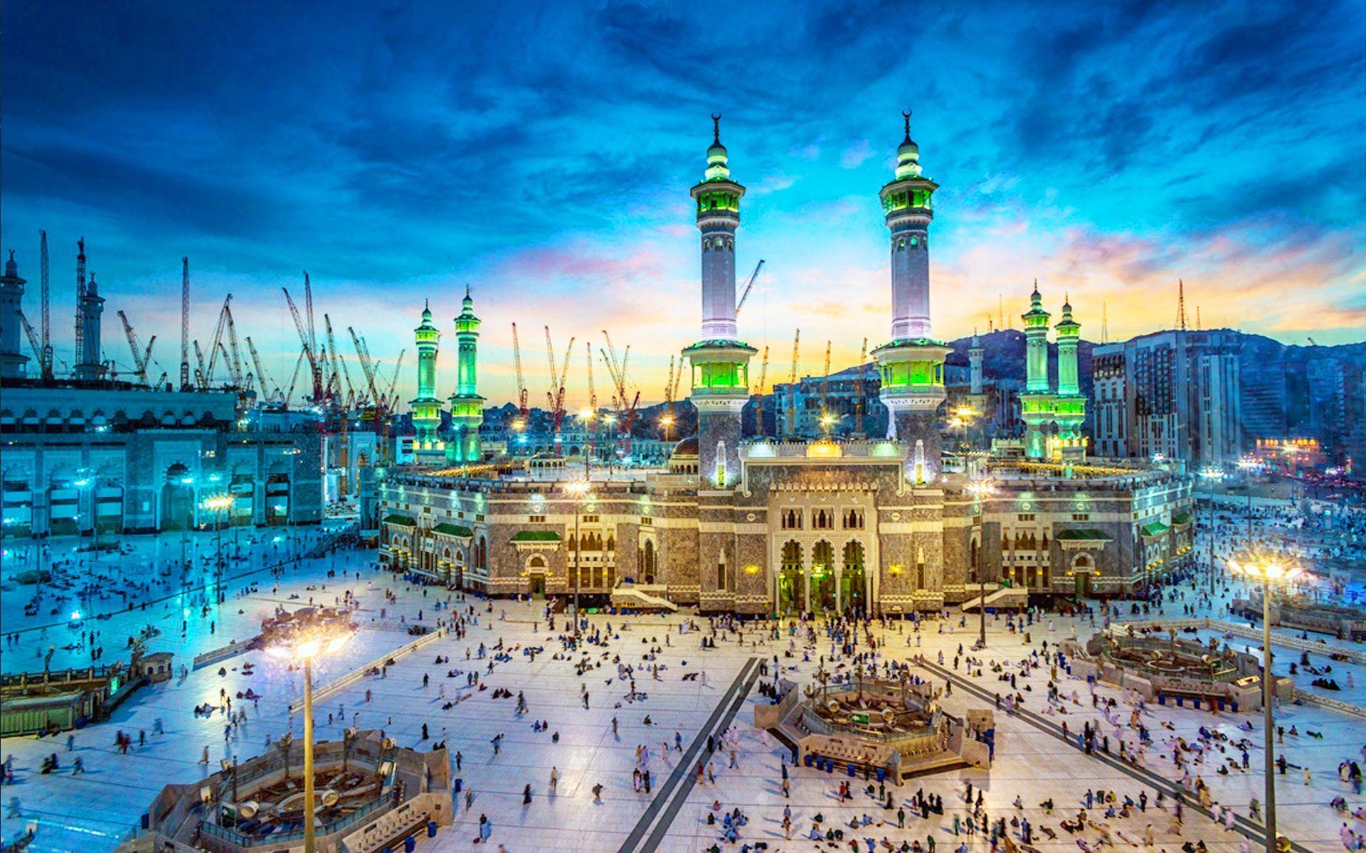 Kaba In Al Masjid Al Haram Al Kaaba Al Musharrafah Great Mosque In
