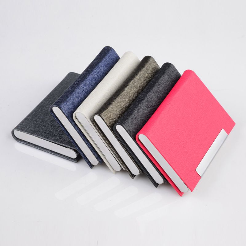 Antitheft Card Wallet Aluminum Card Holder Slim RFID Wallet Case ...
