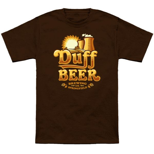 Duff Brewing Co - The Simpsons T-Shirt - The Shirt List