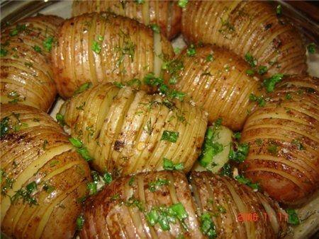 фаршированная картошка фаршем в духовке рецепт с фото