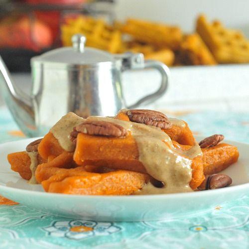 Carrot Waffles