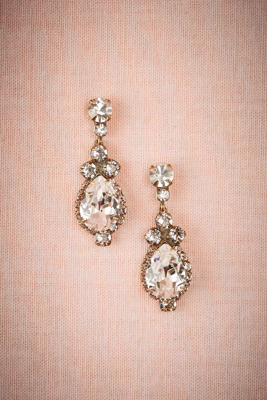 BHLDN Lettice Drop Earrings in Shoes & Accessories Jewelry Earrings ...