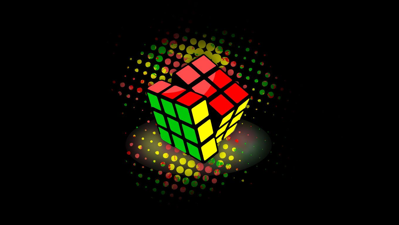 Rubik S Cube Wallpaper By Xky03 Rubiks Cube Abstract Iphone Wallpaper Cube