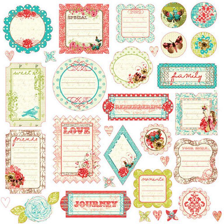 Laminas decoupage etiquetas para regalos scrap - Laminas decorativas para imprimir gratis ...