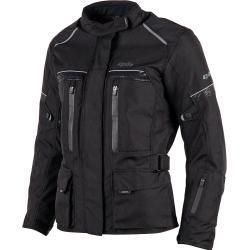 Dxr Roadtrip Damen Textiljacke schwarz Größe 46