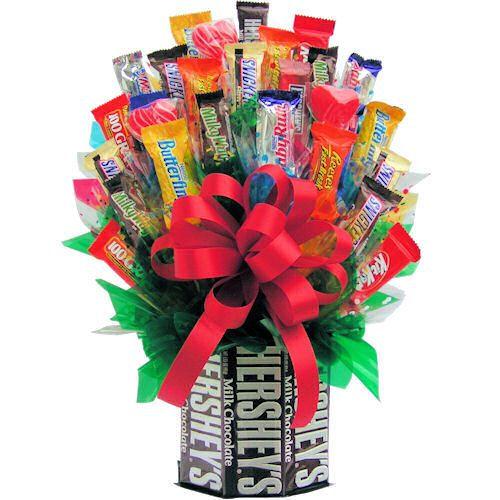 Gift Baskets For Womens Shelter : Candy bouquets for men bouquet visit store