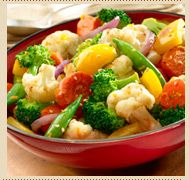 Honey Orange Mixed Vegetables