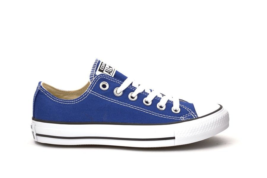 bb5e45091919 Scarpe Donna converse all star basse chuck taylor ox radio blue ...
