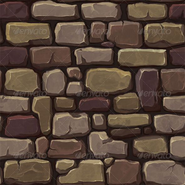 Stone Wall Texture 1 Texture Pixel Art Background Hand Painted