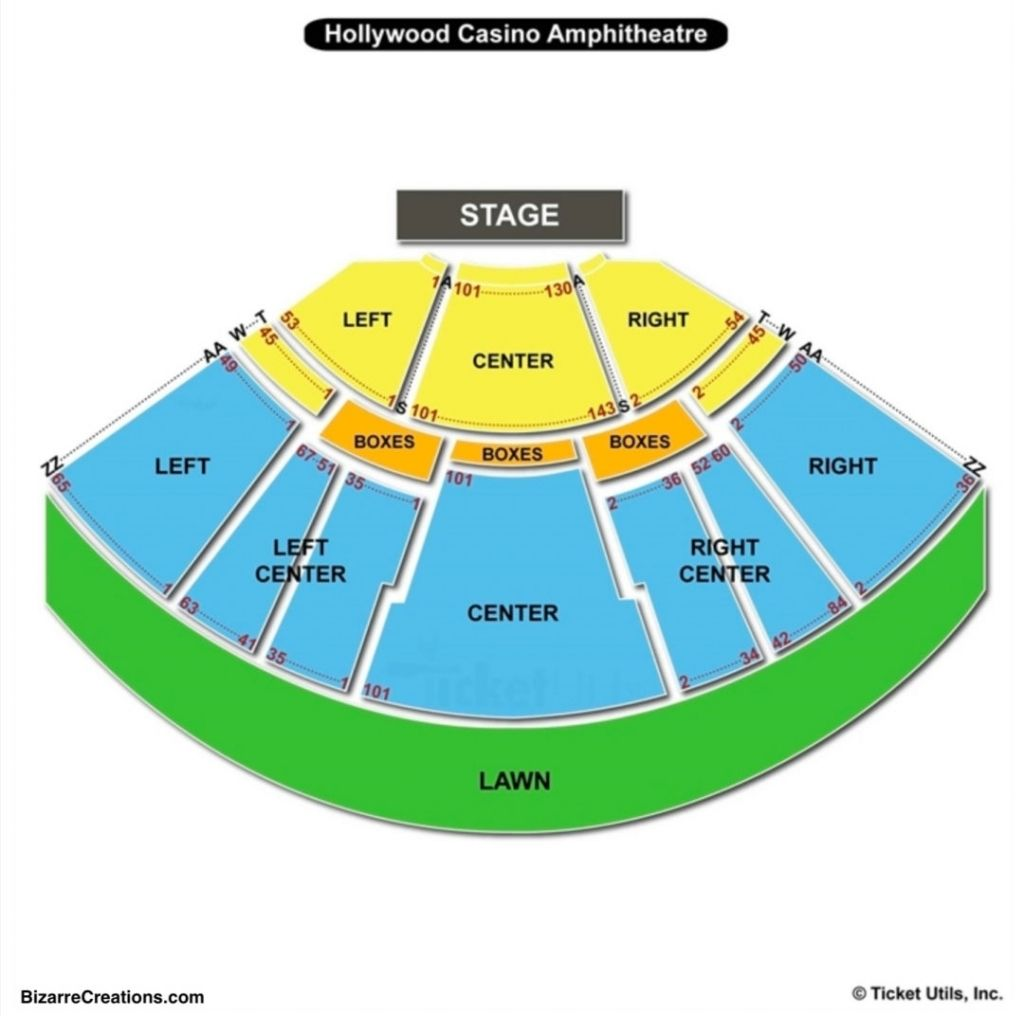 Hollywood Casino Amphitheatre Seating Chart Maryland Heights Mo