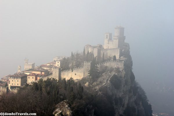 San Marino  I love this blog! Jdombs-Travels is an Air Force couple stationed in Italy with a goal to see 21 countries in 2012.