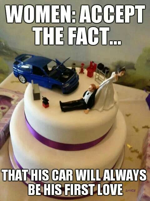 This will be my cake haha Wedding Lusts Pinterest Cars Car