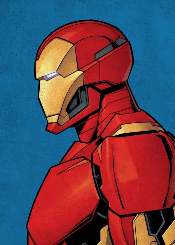 Iron Man by Marvel | metal posters #comicbooks