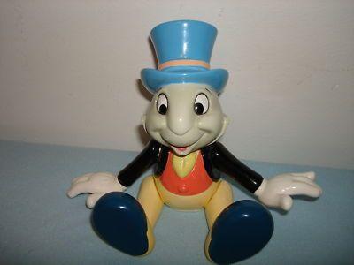 Disney Figurine Unique Rare Schmid Jiminy Cricket Jointed Porcelain Music Box Ebay Disney Figurines Music Box Vintage Music Box