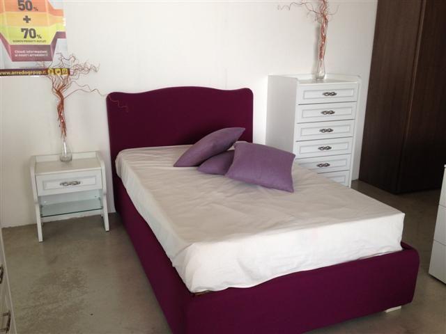 Settimino Cameretta ~ Cameretta composta da letto imbottito modello camilla in tessuto