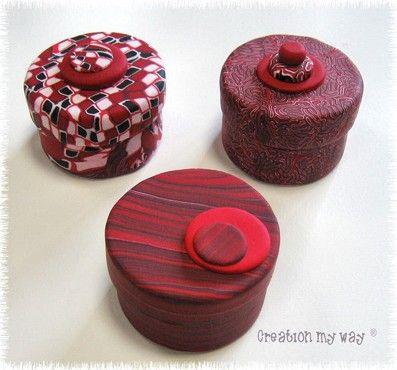 une petite boite parole de p te polym re pinterest fimo boite et petite boite. Black Bedroom Furniture Sets. Home Design Ideas
