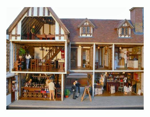old fashioned doll houses. old. diy home plans database