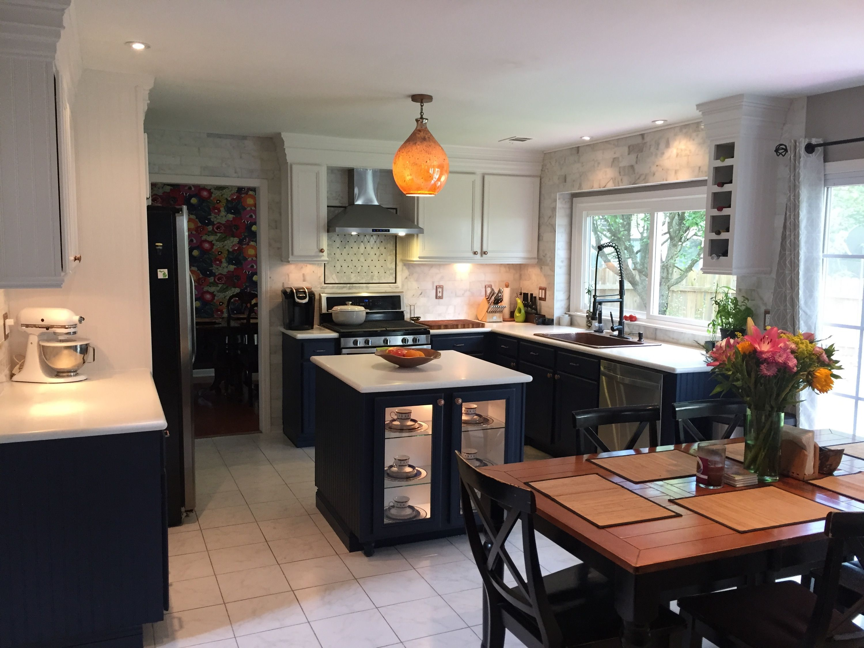 Amazing farmhouse kitchen transformation with our angelico copper