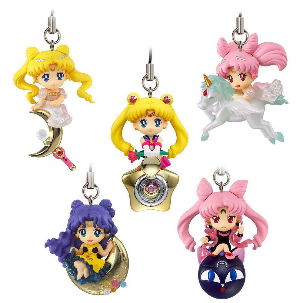 Sailor Moon Schlüsselanhänger 5 cm Display Twinkle Dolly Wave 3 - AUSWAHL