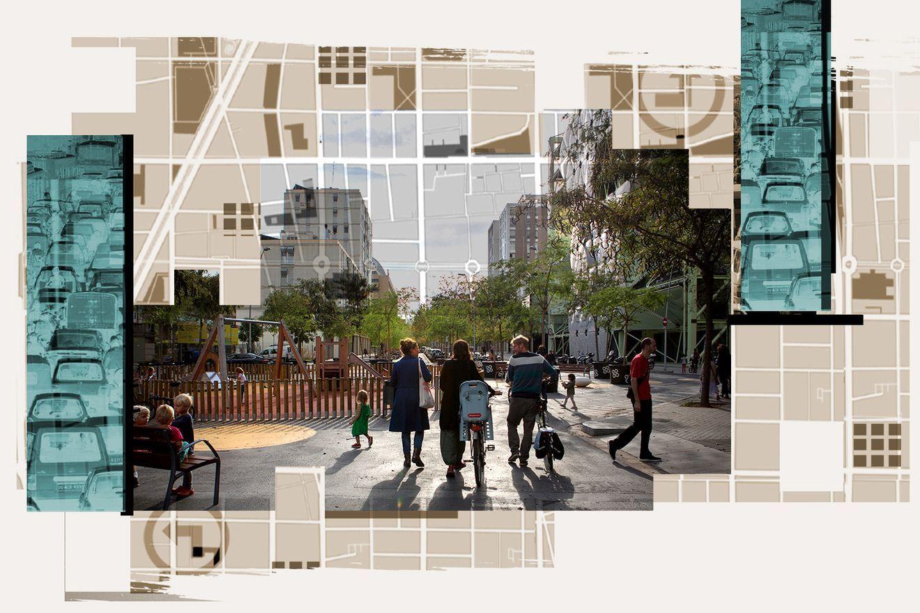 Superblocks Barcelona's radical urban plan to take back