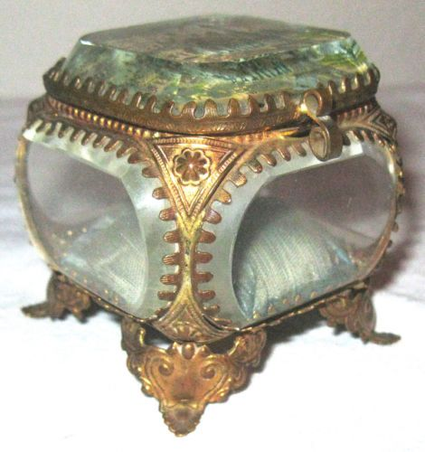 1900-Paris-Exposition-Worlds-Fair-Souvenir-Crystal-Ring-Box-Trinket-Ormolu-Franc