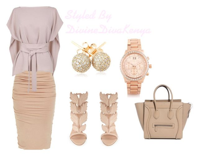 """""""Nude Essentials"""" by phyllohshekoh on Polyvore"""