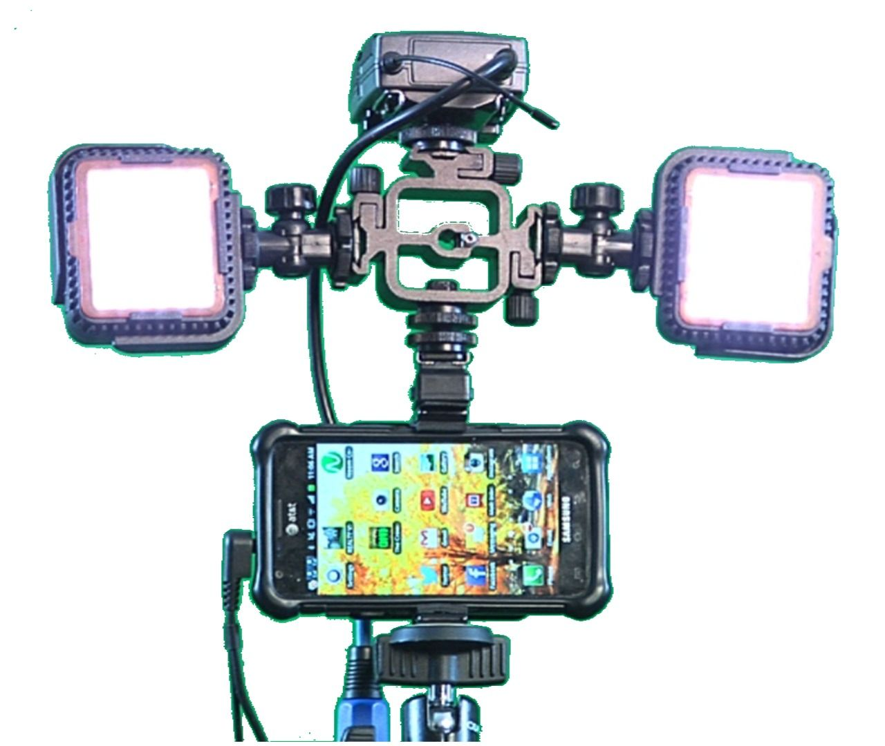 Now you can Broadcast LIVE from Anywhere using your Smartphone and Ustream or Livestream or Youtube. No other mount will connect to so many options. For More Infromation Please visit wwww.UniGripPro.com