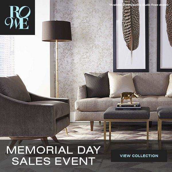 Rowe Furniture Memorial Day Sales Event Going On Now At