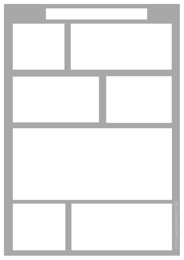 Comic Strip Template  Esl Teaching    Teacher