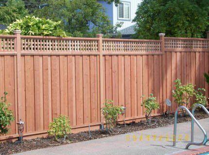 How To Install A Shadow Box Fence Home Guides Sf Gate Wood Fence Design Fence Design Backyard Fences