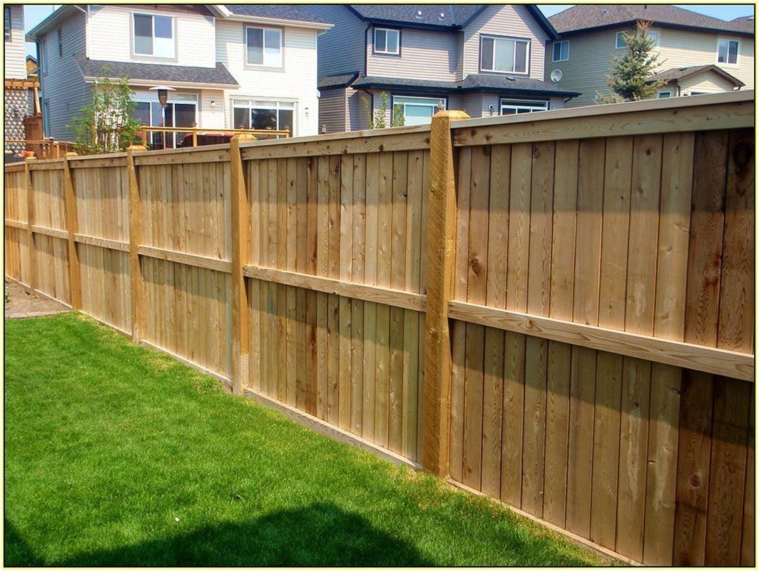 Pin By Josh Brents On House Ideas Backyard Fences Fence Design Wood Fence