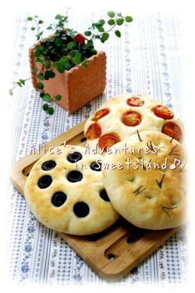 * フォカッチャ♪イタリア〜ンnaパン