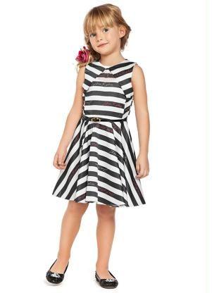 42027212d Vestido Estampado Lilica Ripilica Branco - Posthaus