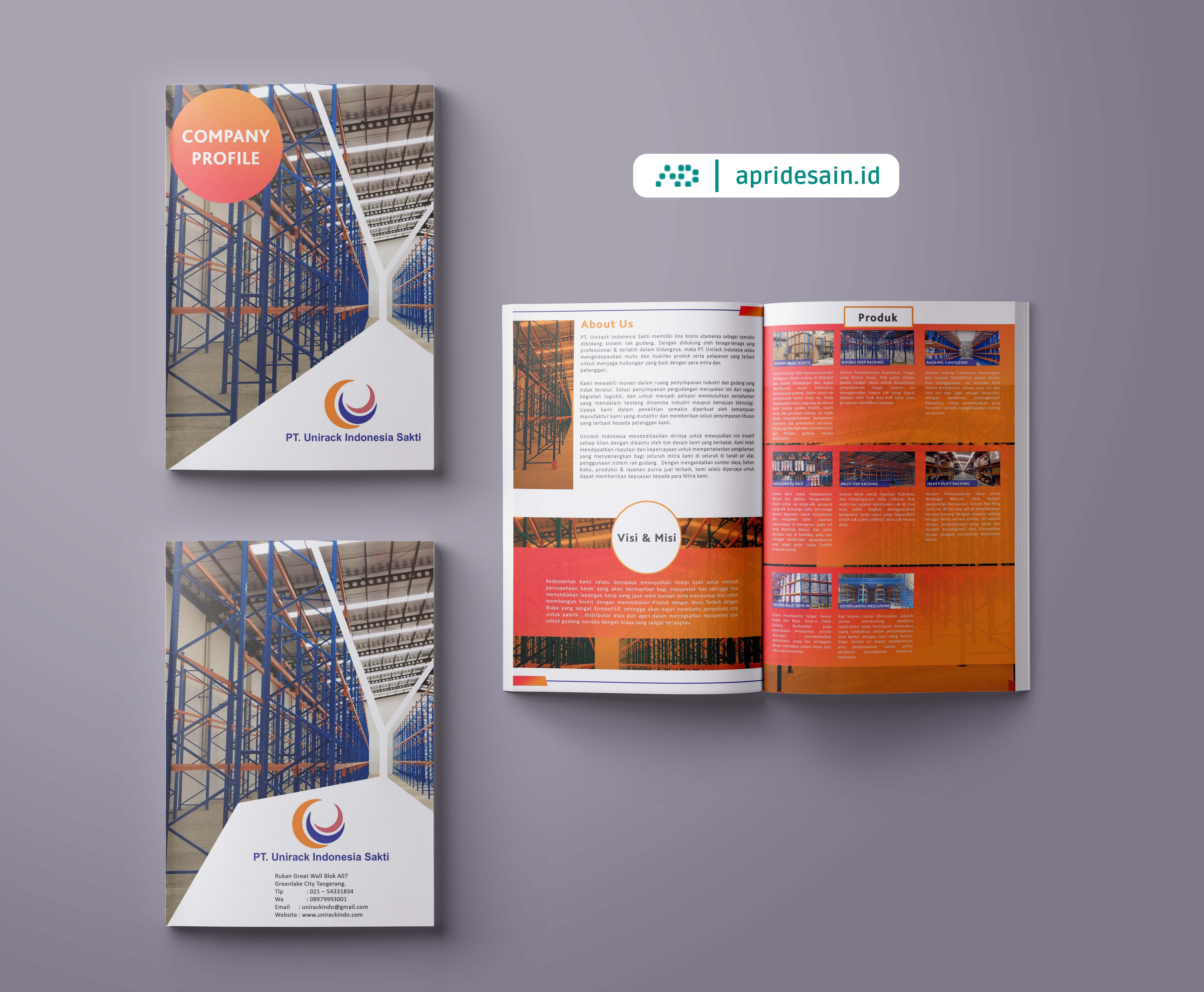 Pin Di Desain Company Profile Katalog