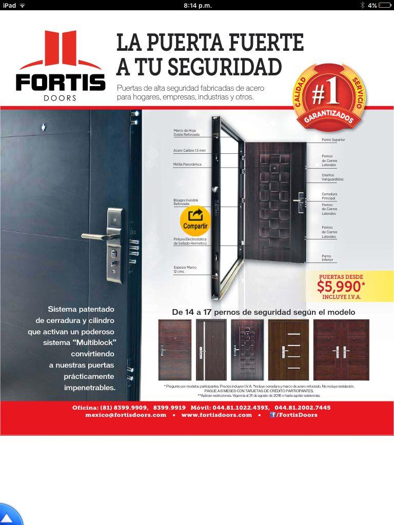Puertas d seguridad