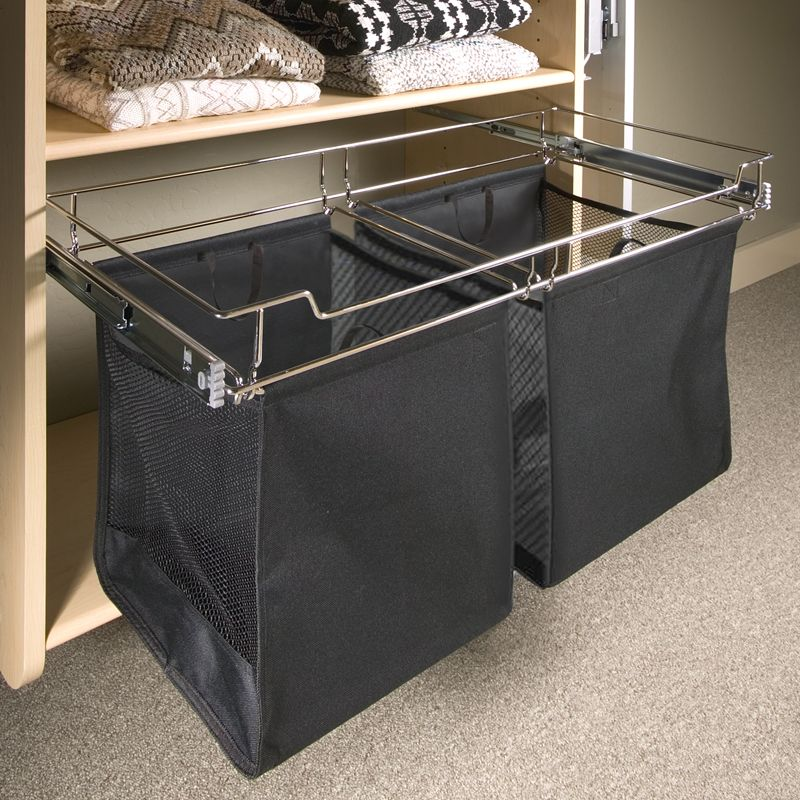 Cool 2 Bag Hamper System Pulls Out On Drawer Slides Each